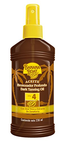 Banana Boat X50025 Aceite FPS 4+, 236ml