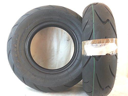 1 pneu sans chambre à air 130/90-10 61P Maxima.