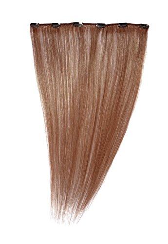 American Dream - A1/QFC12/18/MP67 - 100 % Cheveux Naturels - Barrette Unique Extensions à Clipper - Couleur MP67 - Cuivre Léger - 46 cm