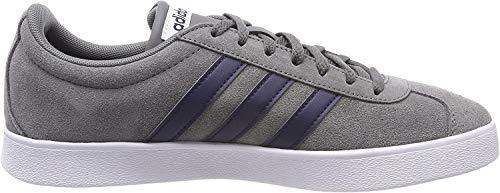 adidas Vl Court 2.0 Zapatillas de deporte Unisex adulto, Blanco (Da9862 Blanco), 43 1/3 EU