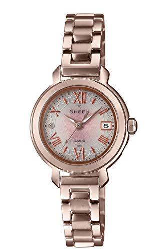 [カシオ] 腕時計 シーン 電波ソーラー SHW-5300CG-4AJF レディース ゴールド