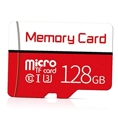 Tuimiyisou Tarjeta Micro SD SDXC Clase 10 de Alta Velocidad Tarjeta de Memoria con el diseño de la Tarjeta Libre de SD Atapter 128 GB humanizado
