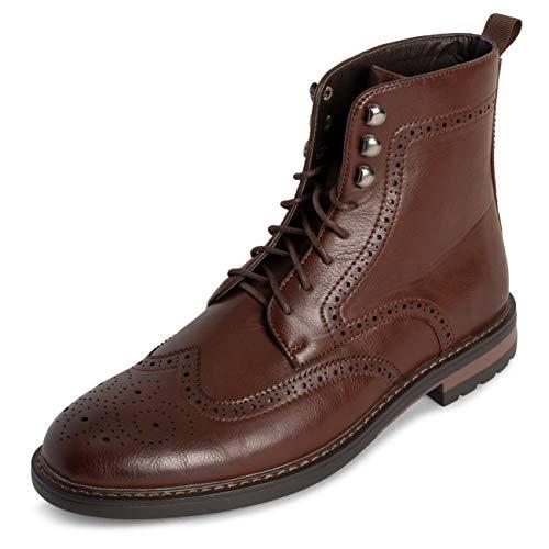 Queensberry Londen herensschoen laarzen Brogue Schroff kantoor Smart Werk Kilt Formal Genagelt Traditionele laarzen
