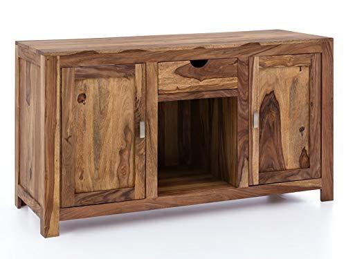 Woodkings® Waschtisch Lagos Massivholz Palisander Waschtischunterschrank für Doppelwaschtisch Badmöbel Badezimmer Möbel Unterschrank Badschrank