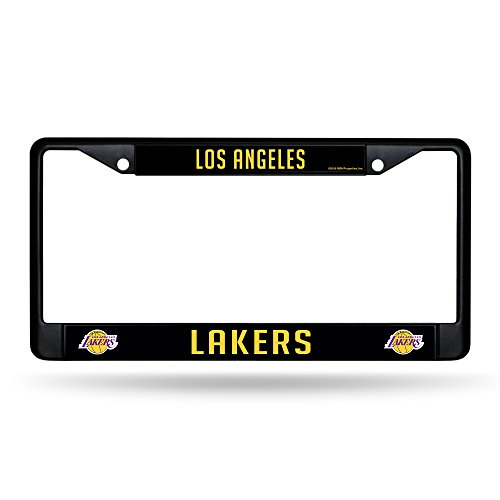 Rico Industries NBA Los Angeles Lakers Standard Chrome License Plate Frame, 6 x 12.25-'