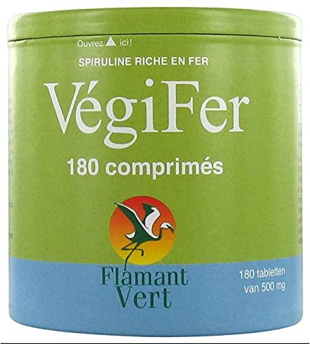 Flamant Vert Végifer 500 mg 180 Comprimés