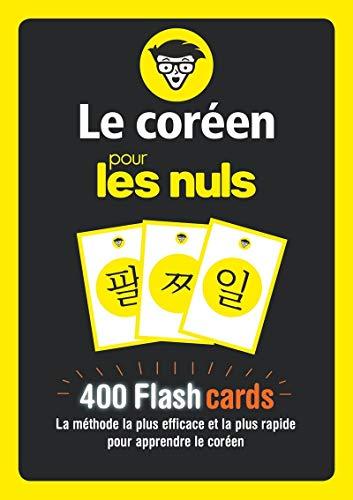 Flashcards Le coréen pour les Nuls