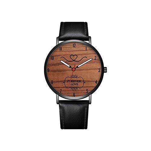 JZDH Relojes para Mujer Relojes para Mujer Relojes para Hombres Día de San Valentín Regalo Fashion Fashion Fashion Band Band Alloy Drist Wrist Watch Relojes Decorativos Casuales para Niñas Damas