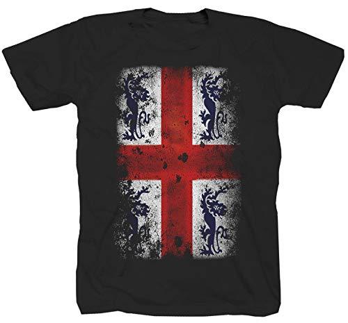 England London Rugby Dart Liverpool Manchester Fussball Fan Punk Rock Shirt T-Shirt XL