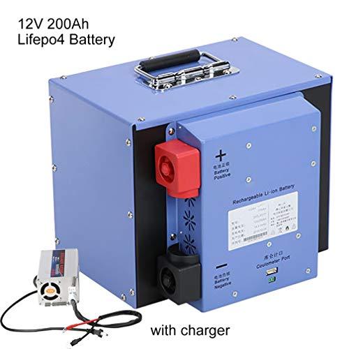 Qingmei Lifepo4 200Ah 12V Lithium-Ionen-Batterie-Licht Gewicht Freizeit-Batterie for Sonnensystem/Wohnmobil/Boot/Golf Carts Autobatterie