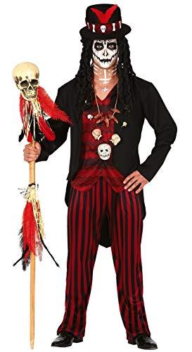 FIESTAS GUIRCA Disfraz de chamn vud para Hombre Disfraz de Terror
