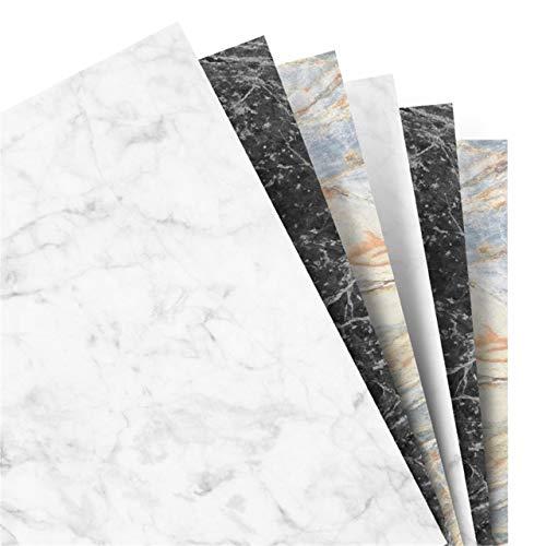 Filofax A5 marmeren effen papier navulling