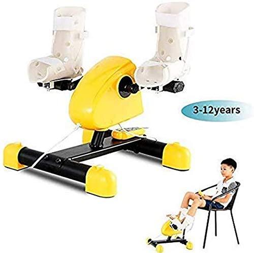 XHCP Equipo de Entrenamiento de rehabilitación, 3-12 años Bicicleta de Fisioterapia electrónica Infantil Tren de rehabilitación de extremidades Superiores e Inferiores