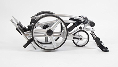 Yorrx® Slim Lion Pro 5 *PLUS* (ALU COOL) Golftrolley/Golfwagen/Golf Cart; AKTION: REGENSCHIRMHALTER GRATIS - 3