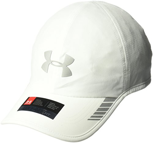 Under Armour Men's Launch ArmourVent Cap , White (100)/Silver , One Size Fits All