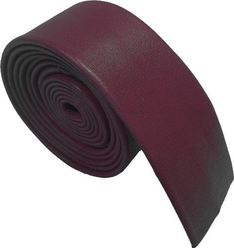 100% Cuero Corbatas (Granate)