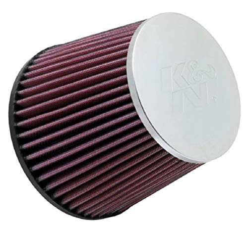 K&N Universal Clamp-On Air Filter: High Performance, Premium, Washable, Replacement Filter: Flange Diameter: 2.75 In, Filter Height: 5 In, Flange Length: 0.75 In, Shape: Round Tapered, RC-5284
