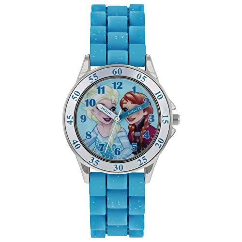 Frozen Reloj Analógico para Niñas de Cuarzo con Correa en Caucho FZN9012