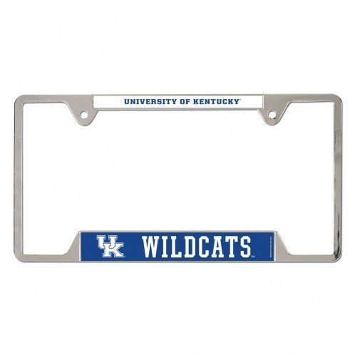 Kentucky Wildcats Metal License Plate Frame - Blue