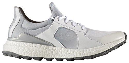 adidas adidas W climacross Boost Golf Schuhe, Damen, Damen, W Climacross Boost, Weiß/silberfarben, 39.3