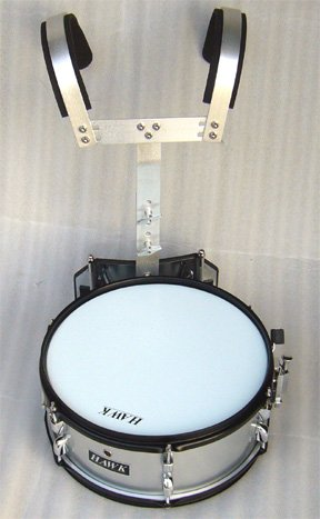 NEW SILVER COLOR MARCHING SNARE DRUM 14'x 5.5'