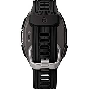 TIMEX IRONMAN R300 GPS Smartwatch with Heart Rate 41mm – Dark Gray with Black Silicone Strap