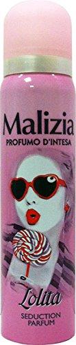 Malizia Lot de 12 déodorants pour femme Prof.D'Intesa Spr.Lolita Seduction P.100 ml