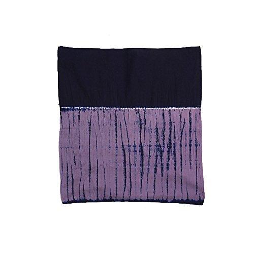 [ 京都きもの町 ] 中巾風呂敷 日本製 08.dandan紺紫×似紫