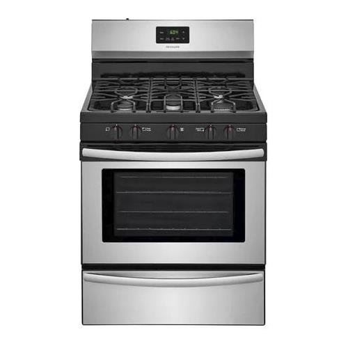 Frigidaire FFGF3052TS 30 Inch Gas Freestanding Range with 5 Sealed Burner Cooktop, 4.2 cu. ft....