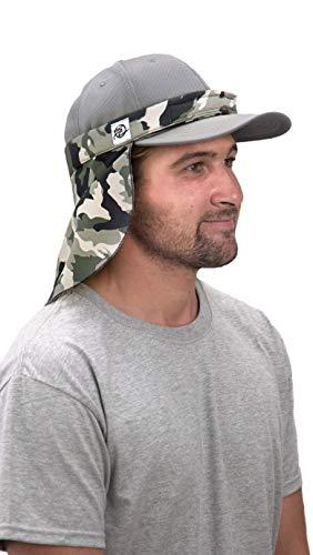Shadecloth Headgear UVA + UVB Sun Protection Drape, Adjustable Neck + Face Mask...