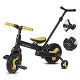OLYSPM 5 in 1 Laufräder Kinder Dreiräder Lauflernhilfe,Vergrößerter...