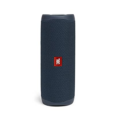 JBL Flip 5 Portable Bluetooth Speaker with Rechargeable Battery, Waterproof, PartyBoost Compatible, Ocean Blue from Harman