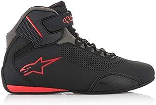 Alpinestars Sektor Vented Shoes - Black/Gray/Red - 6.5