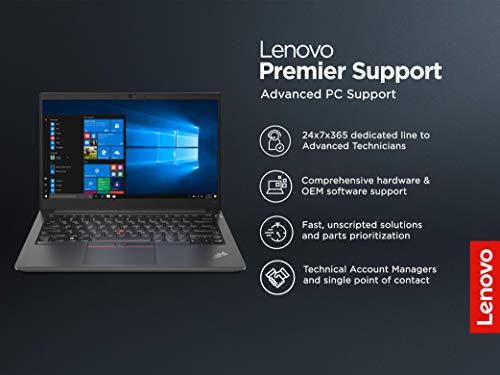 Lenovo ThinkPad E14 Intel Core i5 10th Gen 14-inch Full HD Thin and Light Laptop (8GB RAM/ 256GB SSD/ DOS/ Black/ 1.69 kg), 20RAS00100