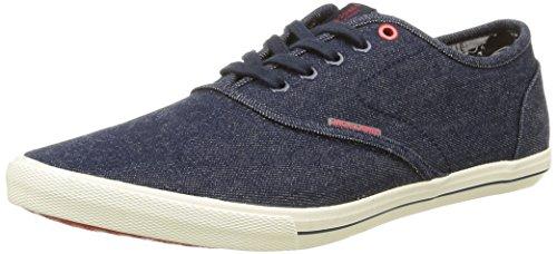 JACK & JONES Herren JJSPIDER Canvas Sneaker, Blau (Light Blue Denim), 41 EU