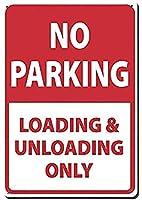 エンジニアグレード反射、Na駐車場B、ヴィンテージブリキの壁サインレトロアート鉄絵金属警告プラーク家の庭店バーコーヒーハウス