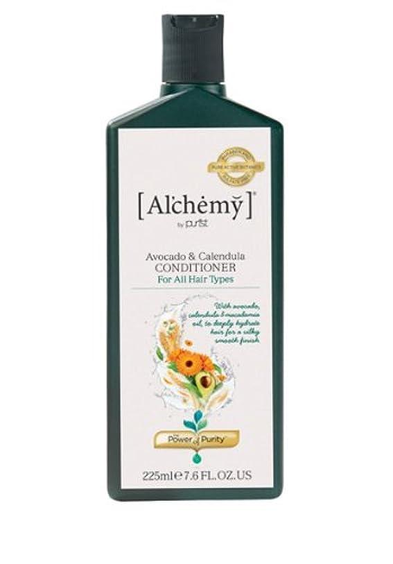 バルク不平を言う代わりの【Al'chemy(alchemy)】アルケミー アボカド&カレデュラ コンディショナー(Avocado&Calendula Conditioner)(ドライ&ロングヘア用)225ml