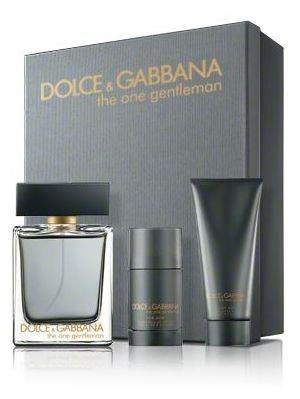 Dolce & Gabbana The One Gentleman Geschenkset 100ml EDT + 50ml Duschgel + 70g Deodorant Stick