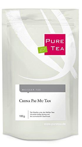 China Pai Mu Tan (100g) Der Klassiker unter den Weißen Tees mit einem fein-aromatischen Geschmack