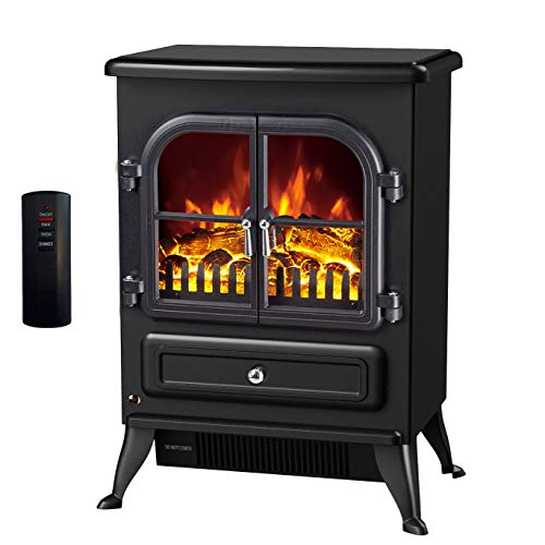 Galleon Fires-Agena Electric Stove with Remote Control