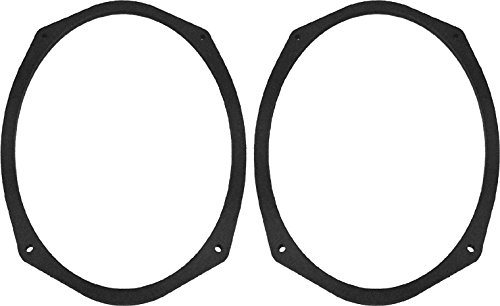 """6x9 Speaker Spacers Depth Extender Extending Rings - 1/4"""" Thick - SSK69 - Stackable - Perfect for Framing Fiberglass Enclosures - 1 Pair"""