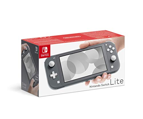 Nintendo Switch Lite - Consola color Gris, Edición  Estandar