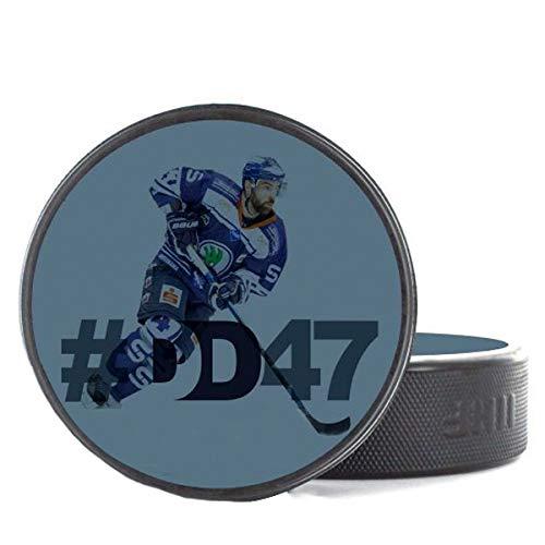 Scallywag® Eishockey Puck Derek Dinger #47 I A BRAYCE® Collaboration (Trainingspuck o. Spielpuck aus der Offiziellen #DD47 Derek Dinger Collection)