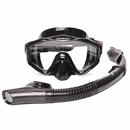 SXZHDZ Gafas de Buceo, Camuflaje antivaho, Nuevas Gafas de Buceo Profundo, Set de Snorkel Tres Tesoros