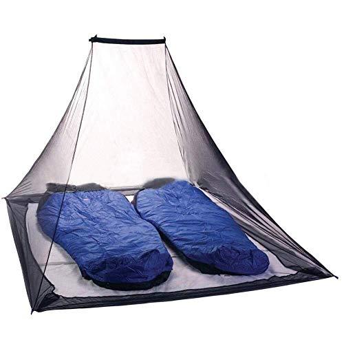 Outdoor-Überlebenscamping Camping Moskitonetz tragbare Outdoor-Reise-Zelt große Pyramide Moskito-Schutznetz Camping Bettwäsche Garten Insektenschutznetz, große Öffnung, kompakt und leicht, einfach zu