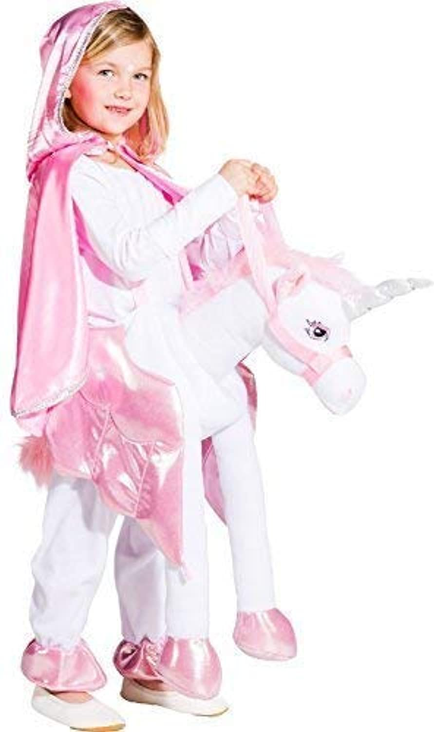 Girls Step in Ride On Piggyback Unicorn Animal World Book Day Week Carnival Party Fun Fancy Dress Costume Outfit
