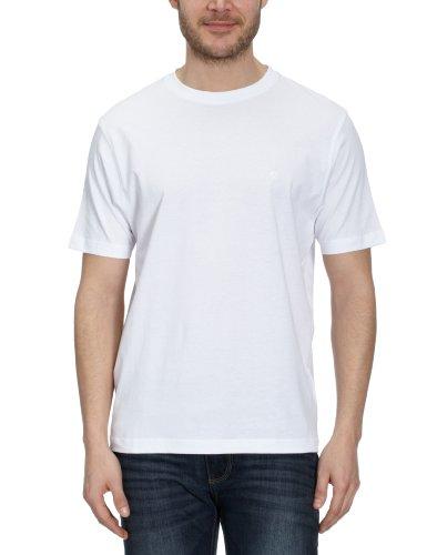 LERROS Herren LERROS Herren Rundhals T-Shirt T-Shirt,,per pack Weiß (White 100),Large