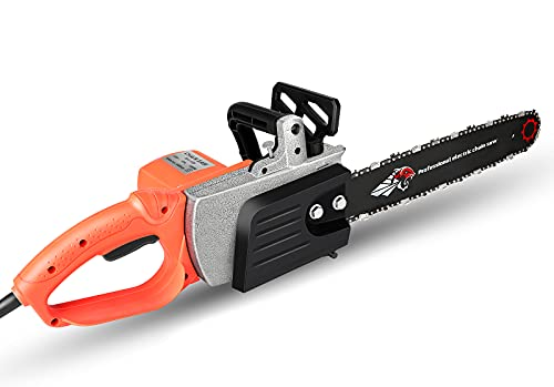 Tolsous 16 Inch Electric Chainsaw Corded Professional Chainsaw Outdoor Tools Garden Tool with High Power for Wood Cutting