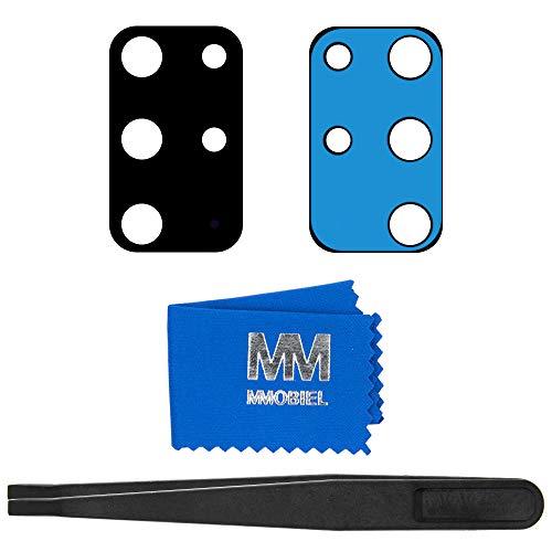 MMOBIEL Back Rück Kamera Glas Linse Ersatz Kompatibel mit Samsung Galaxy S20 + Plus SM G886 6.7 inch 2020 inkl Pinzette und Tuch