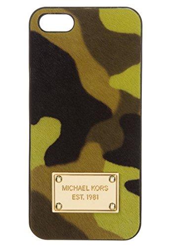 Michael Kors Electronics Acid Lemon Camouflage Haircalf Phone Case For IPhone 5